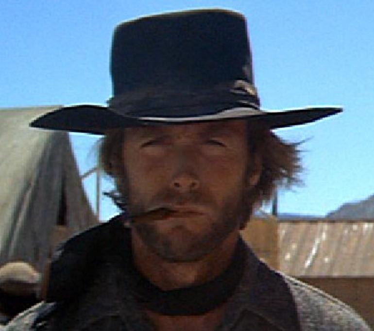 high plains drifter joe kidd clint eastwood leather hat